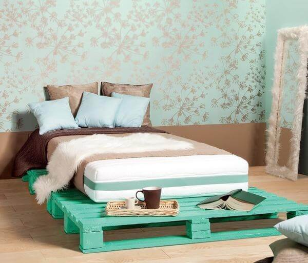 Bed Pallets Ideas: Diy Pallet Bed - Your Own Creativity Ideas