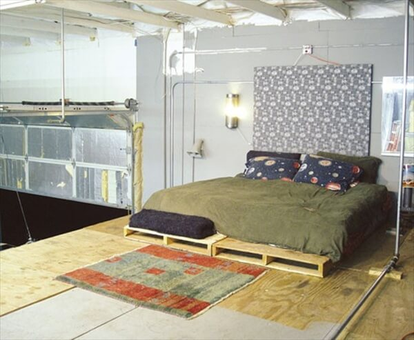 Diy Pallet Bed - Your Own Creativity Ideas | 101 Pallets
