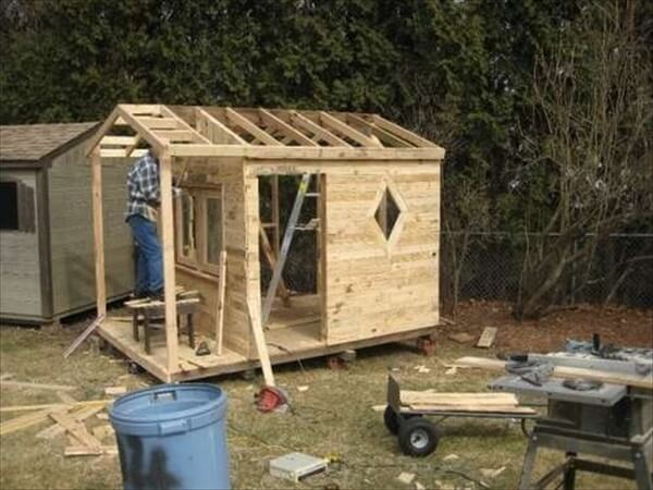 Pdf Diy Playhouse Plans From Pallets Download Printable Furniture Templates For Floor Plans
