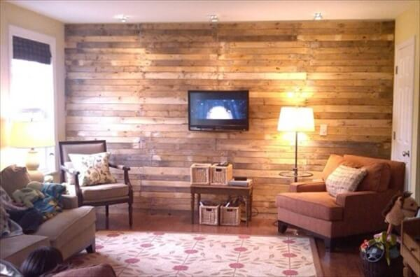 DIY Wall Art: Wooden Pallet Wall Decoration | 101 Pallets
