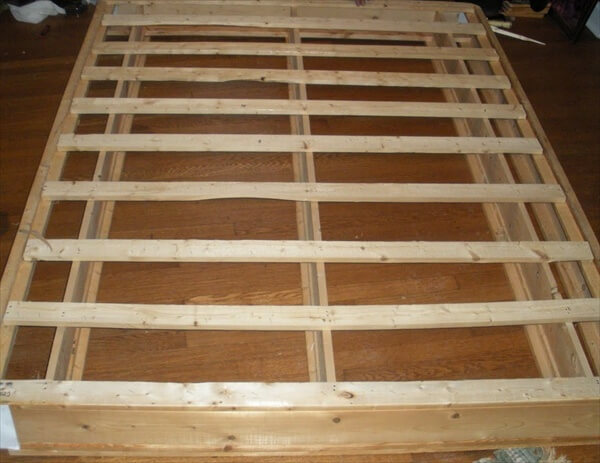 pallet bed frame - Full Bed Frame Wood