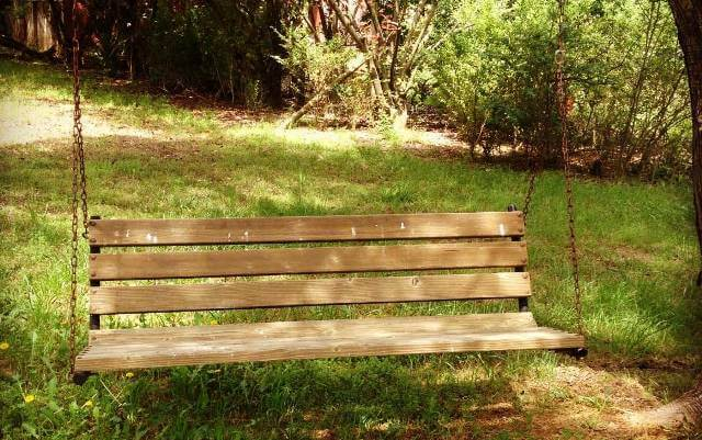 swing bench diy