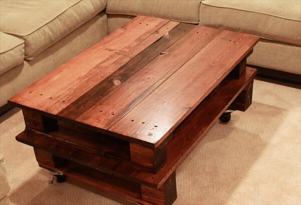 pallet table plans