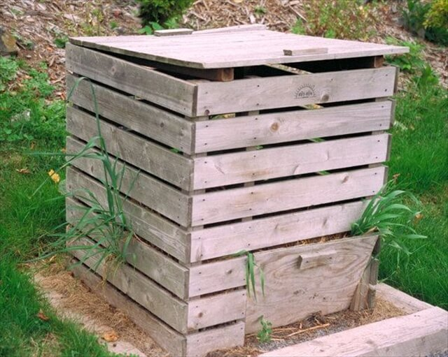 There are many advantages of making compost bin to using the recycled ...