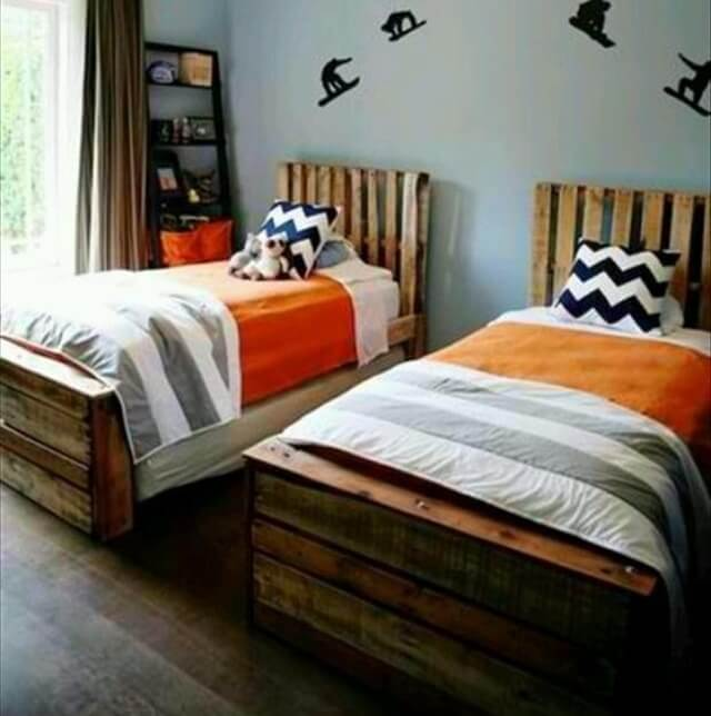 13 Pallet Ideas for Kids Room and Furniture | 101 Pallets