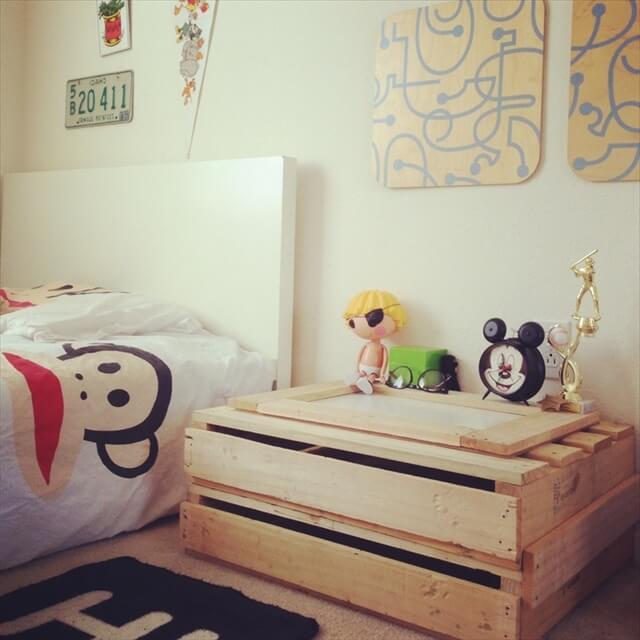 pallet nightstands