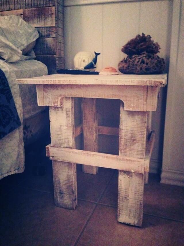 add beauty and decor to room with pallet nightstands 101