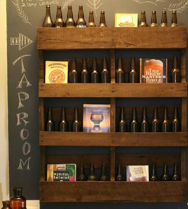 Pallet Shelves Ideas: Ideas For Wooden Pallet Crafts: 8 Pallet Furniture