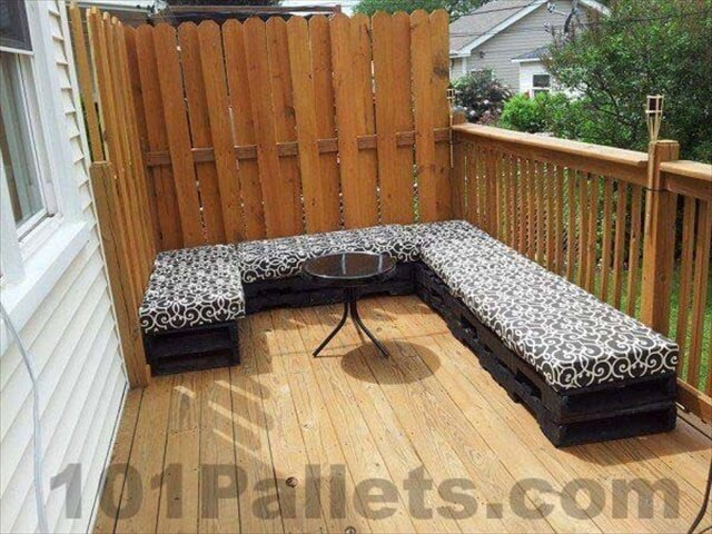 Unique Pallets Patio Outdoor Furniture | 101 Pallets