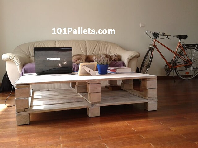 best pallet coffee table