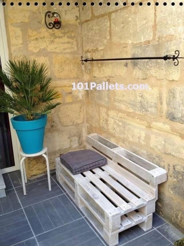 My Very Own Idea Of Terrace Cozy Pallet Corner 101 Pallets