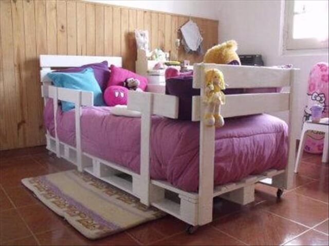 Pallet bed ideas for kids