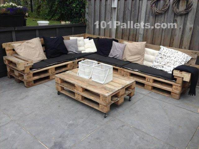 ideal pallet lounge set 101 pallets