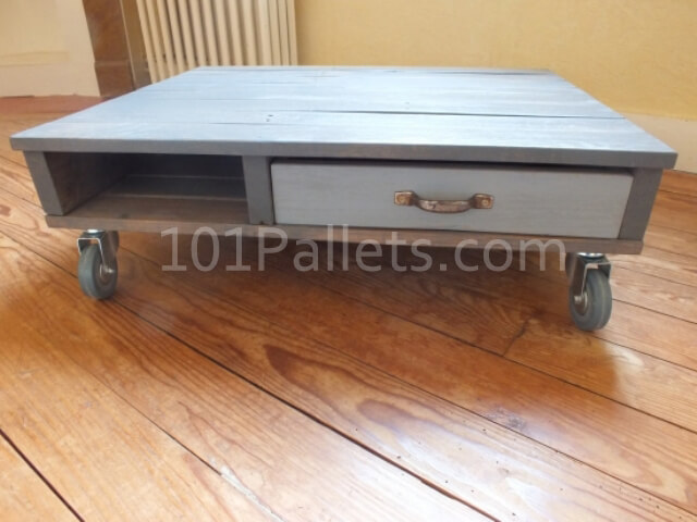 wooden pallet coffee table instructions 101 pallets