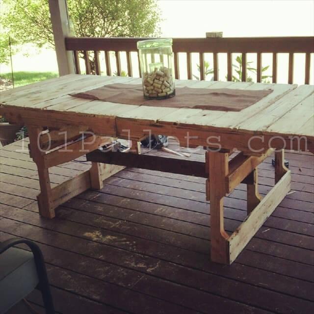 15 Unique Pallet Picnic Table | 101 Pallets
