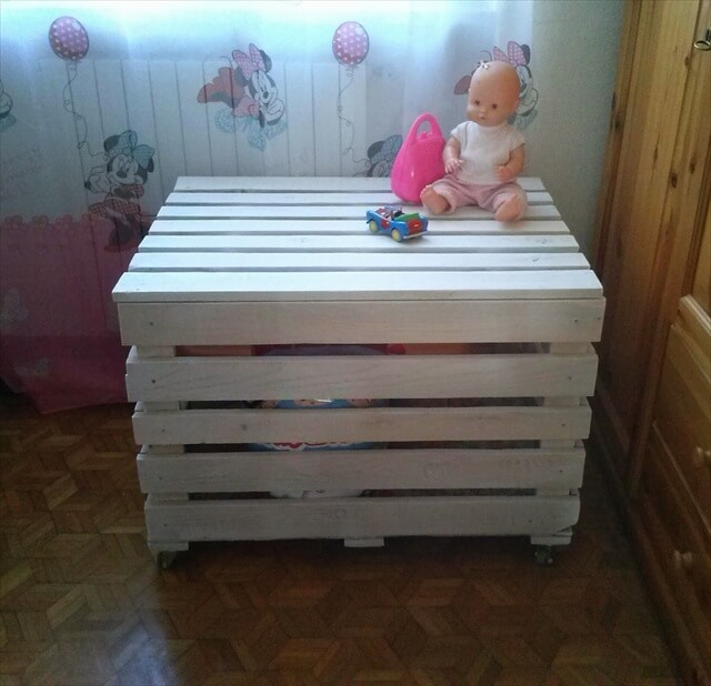 How To Make A Storage Chest From Pallets