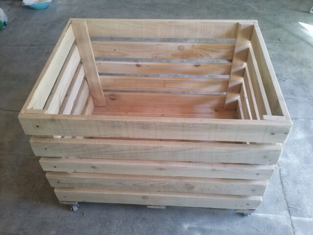 How To Make A Toy Chest Out Of Pallets Quick Woodworking