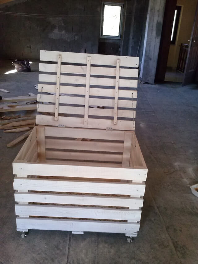 Kids Wood Storage Bins