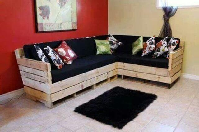 Top 30 diy pallet sofa ideas 101 pallets for Canape angle palette