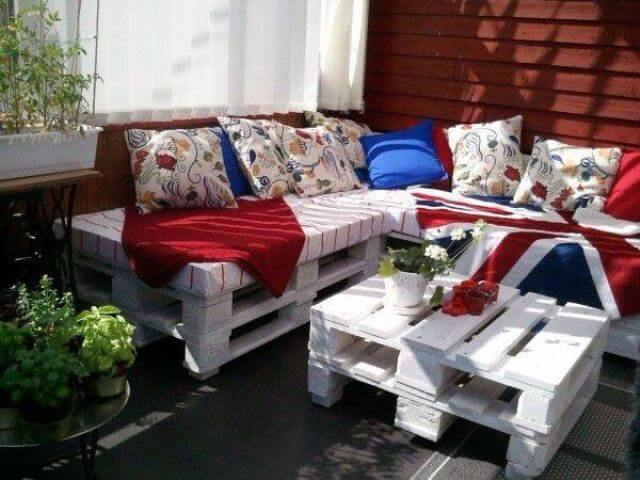 pallet sofa cushion