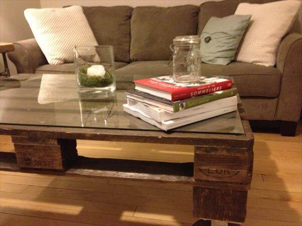 Upcycled Pallet Table