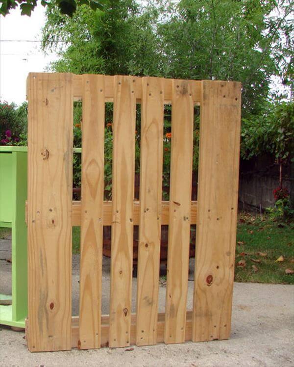preparing wood for pallet coar rack