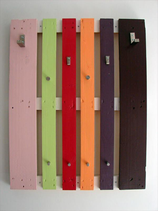 preparing wood for pallet coat rack