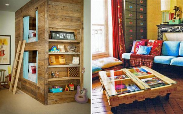 Furniture Made From Pallets diy easy wooden furniture projects from pallets | 101 pallets