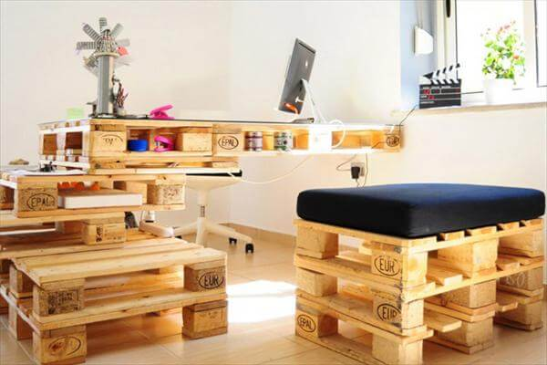 DIY Easy Wooden Furniture Projects From Pallets 101 Pallets