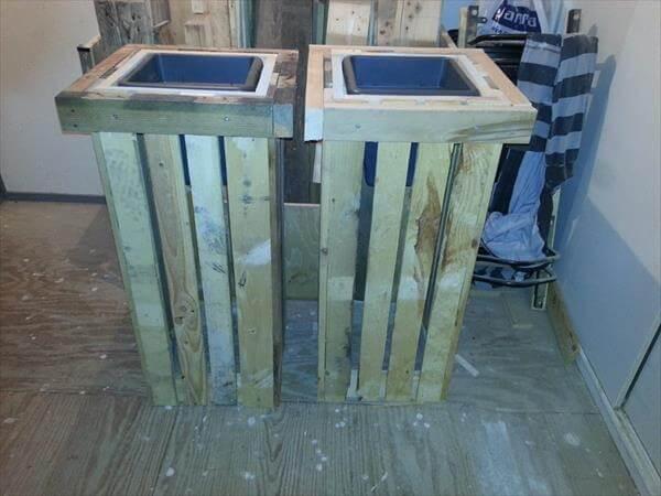DIY Pallet Planter Boxes 101 Pallets