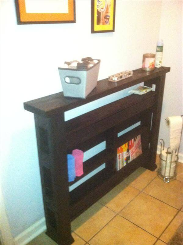diy table out of pallet