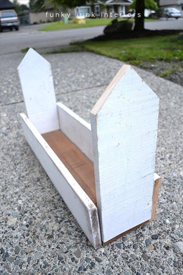 diypallet planter box
