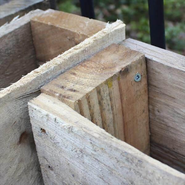 pallet composite bin step 2