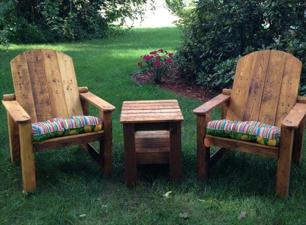 Recycled Adirondack Made From Pallets | 101 Pallets