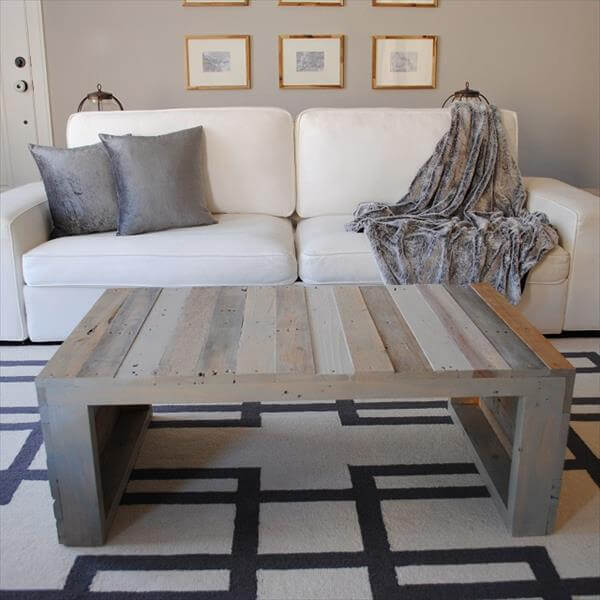 Wood Pallet Coffee Table 101 Pallets