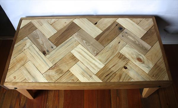 redeemed pallet coffee table