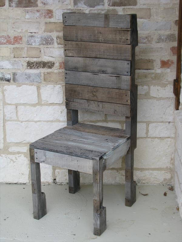 DIY Pallet Chair Design Ideas | 101 Pallets