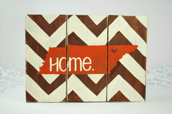 wooden pallet home wall art