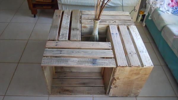 ... table pallet sofa diy pallet and crate coffee table diy crate hinged