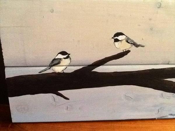 Diy bird wall art - photo#21