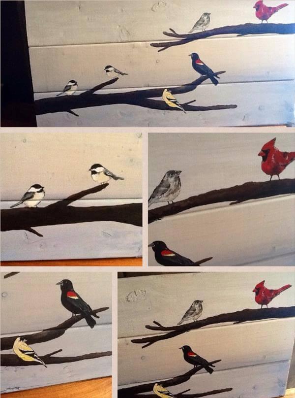 Diy bird wall art - photo#19
