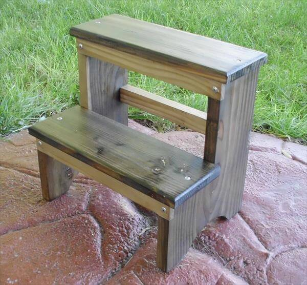 Related posts diy pallet wood stool diy miniature pallet table pallet