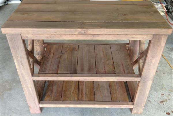 Kitchen Island Out Of Pallets diy pallet kitchen island or hutch tv stand | 101 pallets