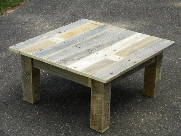 ... table reclaimed pallet and steel coffee table pallet coffee table with