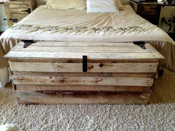 diy wood trunk