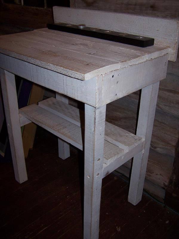 Diy Pallet Potting Bench Buffet Table 101 Pallets