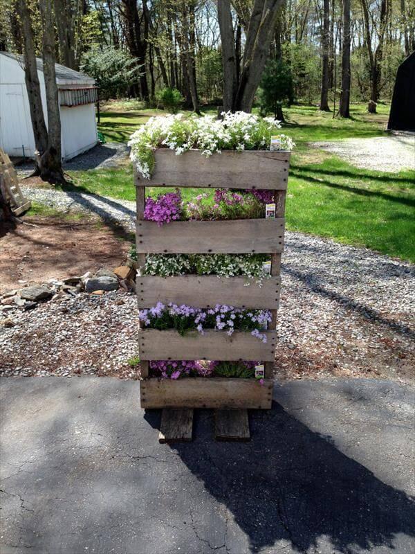 Diy outdoor furniture ideas - Mind With Pallet Vegetable Garden Diy Creative Pallet Garden Bed Diy
