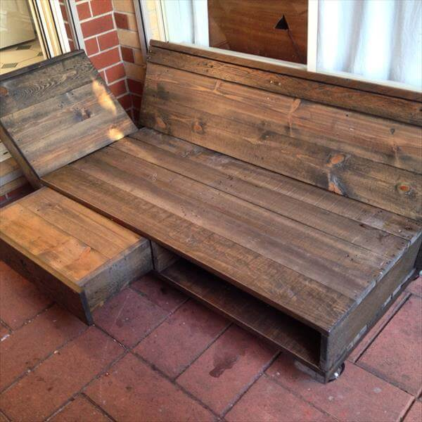 Pallet Daybed Lounge Chair 101 Pallets