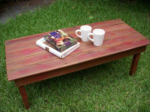Diy Rustic Black Pallet Table 101 Pallets