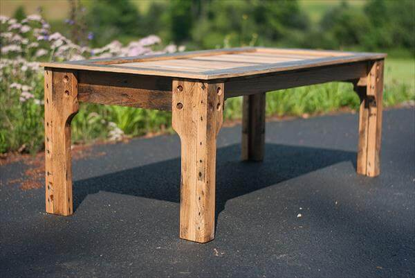 Pallet Recycled Coffee Table | 101 Pallets